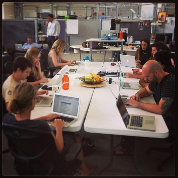 design team tabletime at sparc